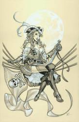Pirate Queen by MichaelDooney