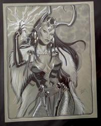 Lady Loki by MichaelDooney