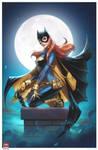 Batgirl print! by MichaelDooney