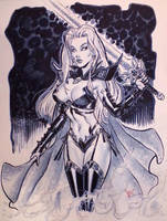 Lady Death Phoenix Comic Con by MichaelDooney