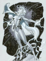 Thunder Legion of Superheroes by MichaelDooney