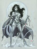 Dark Wonder Woman by MichaelDooney