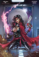 Black Sable Zenescope cover and 25% off comics ! by MichaelDooney