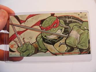 Raphael TMNT sketch card by MichaelDooney