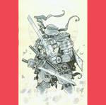 Samurai leo by MichaelDooney