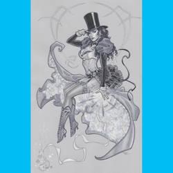 Zatanna 1887 by MichaelDooney
