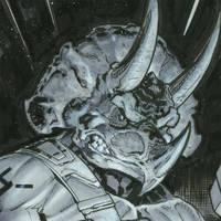 Triceraton tmnt by MichaelDooney