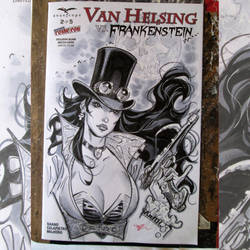 Van Helsing cover by MichaelDooney