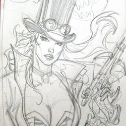 Van Helsing pencils by MichaelDooney