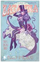 Zatanna 1887 magic poster by MichaelDooney