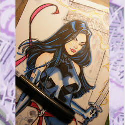 Psylocke commish by MichaelDooney