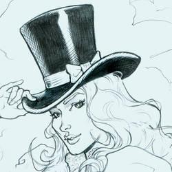 top hat by MichaelDooney