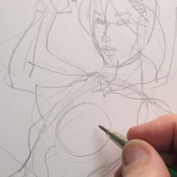 Rough pencils by MichaelDooney