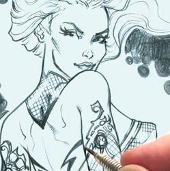 cover pencils by MichaelDooney