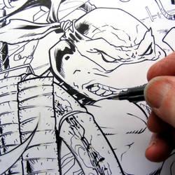 leo inks by MichaelDooney