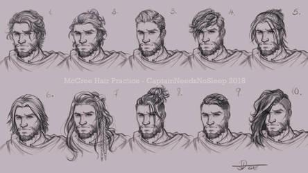 Hair Studies by Darya87