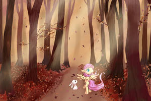 Autumn Stroll by cheerubi