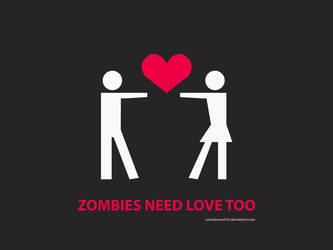 Zombie Love by LunaQueen333