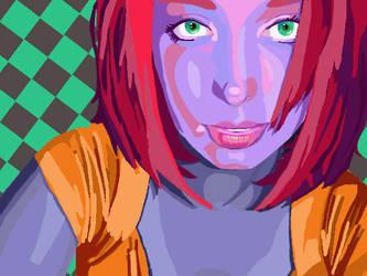 Protrait color comp by LunaQueen333