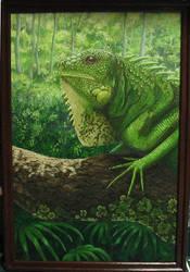 iguana, FINISHED by eruna