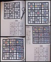 Cross-stitch: Sudoku by wemustnotforget