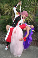 Movie Utena and Anthy by Sundari-chan