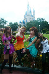 Disney Vacation by Sundari-chan