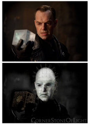 Hugo Weaving as Pinhead by cornerstoneoflight