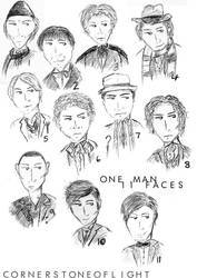 Doctor Who - 11 Faces by cornerstoneoflight