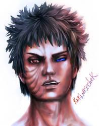 Obito's eyes by karinusechek