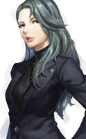 Persona 5 - Sae Niijima by blazpu