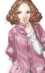 Persona 5 - Haru Okumura by blazpu