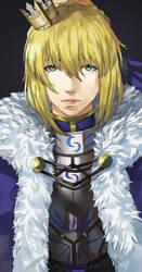 Fate/Grand Order - Saber by blazpu