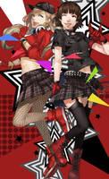 Persona 5 Dancing Star Night by blazpu