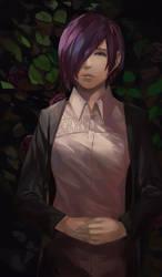 Tokyo Ghoul:re - Touka Kirishima by blazpu