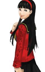 P4 - Yukiko Amagi by blazpu