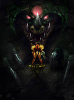 Super Metroid by TheRagingSpaniard