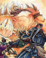 World of Warcraft - Ragnaros by TheRagingSpaniard