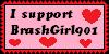I Support BrashGirl901 by GangnamStyleChick