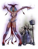 Demon Duo concept by artzilla