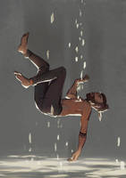 Claude's pain by WanderingLola