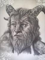 The Beast by GoldenWerewolf