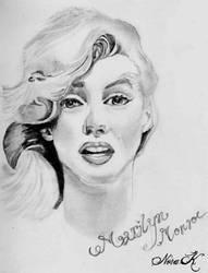 Marilyn Monrow by adornor