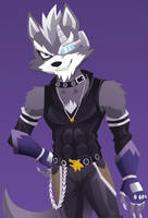 Wolf O'Donnell/Starwolf by VivianWolf18
