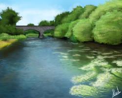 Afternoon bridge by Cynical-Al