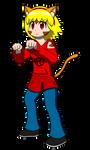 Reena Wakeru (Fighter) by crimson-bakeneko