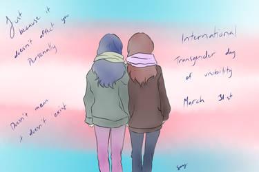 International Transgender day of visibility by LittleSmallSonya