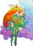 The Bunny Knight From An Ethereal Dream by ethereal-afterlight