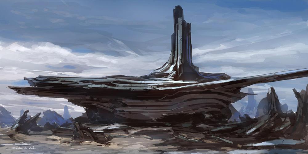 Environment Sketch by satoruwada