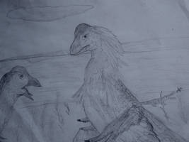 Come er' - Saurian Anzus by RaptorWings